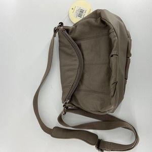 The Sack Brown Crossbody Bag NWT